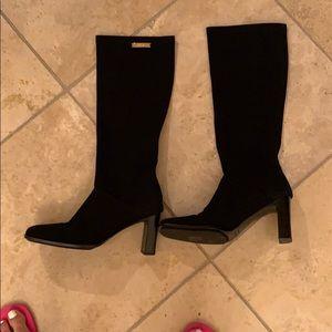 Fabric Escada boots